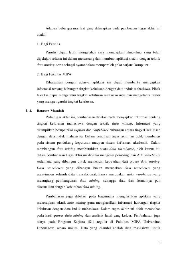 Contoh Review Jurnal Data Mining Jurnal Indonesia
