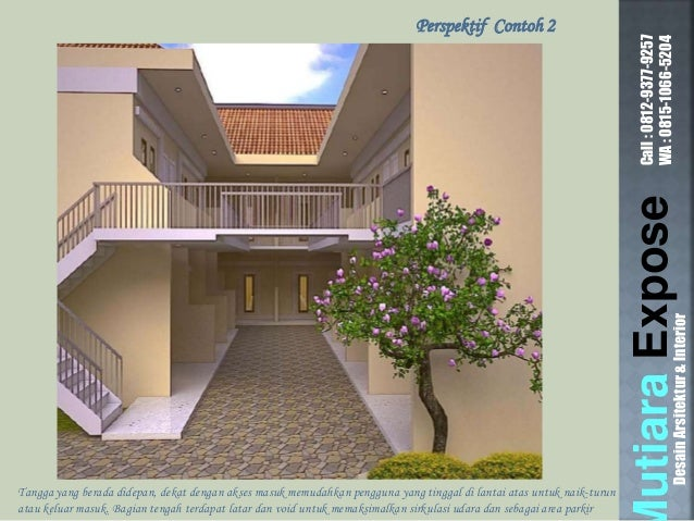 DesainArsitektur\u0026Interior; 11. & Contoh Desain Rumah Kontrakan Petak