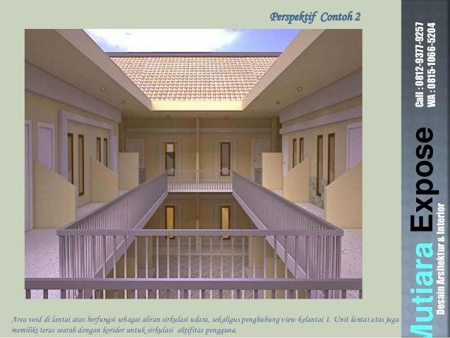 ... DesainArsitektur\u0026Interior Perspektif Contoh 2; 12. & Contoh Desain Rumah Kontrakan Petak