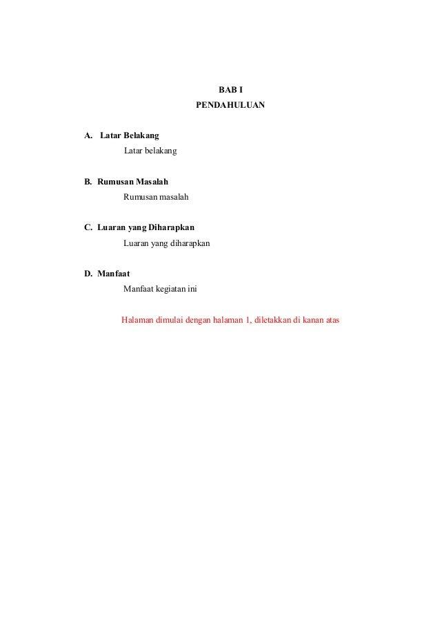 Contoh Daftar Isi Pkm - Contoh 43