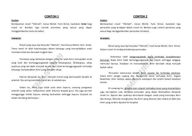 Contoh Soalan Novel Tawanan Komander Caucasus S Soalan