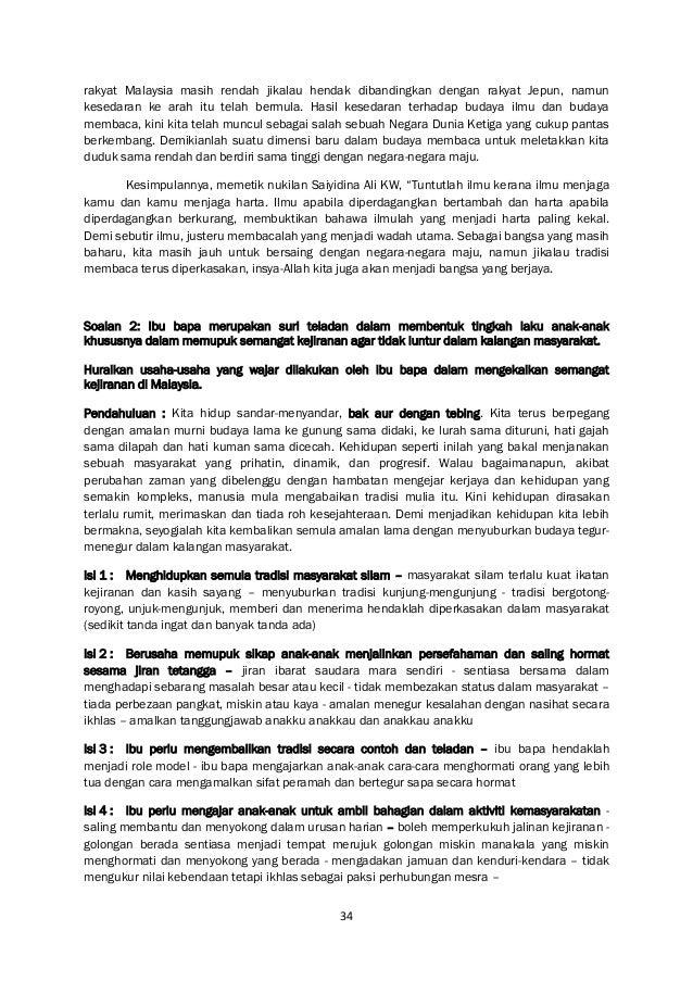 34 rakyat Malaysia masih rendah jikalau hendak dibandingkan dengan rakyat Jepun, namun kesedaran ke arah itu telah bermula...