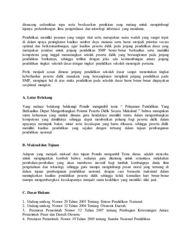 Download Karya Tulis Ilmiah Tentang Pendidikan Pdf