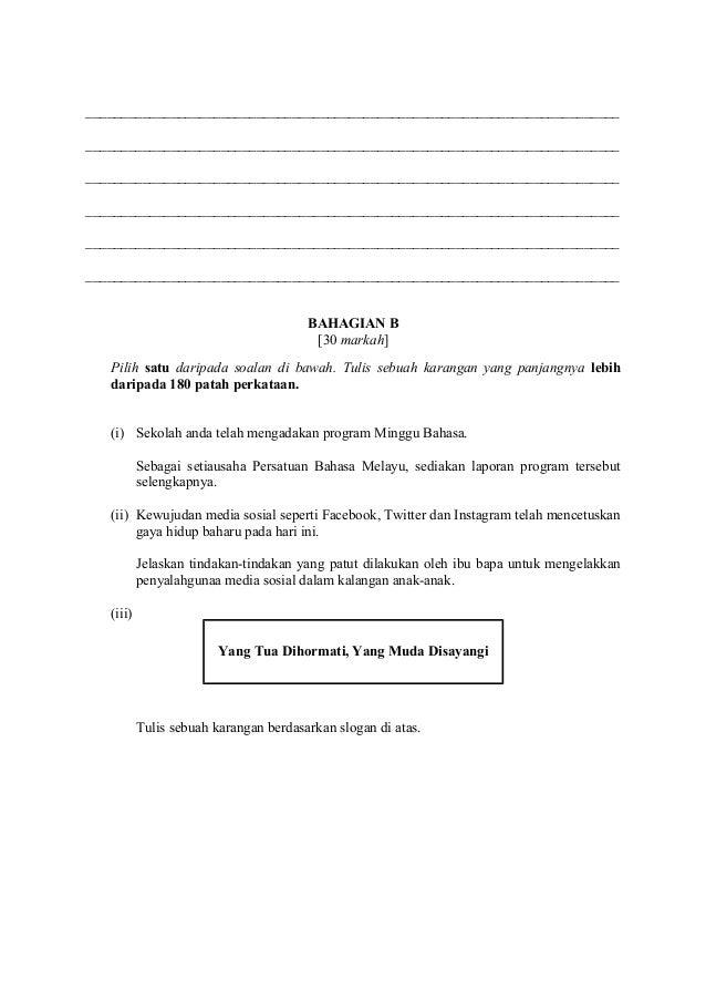 Contoh Kertas 1 2 Bm Pt3 2019
