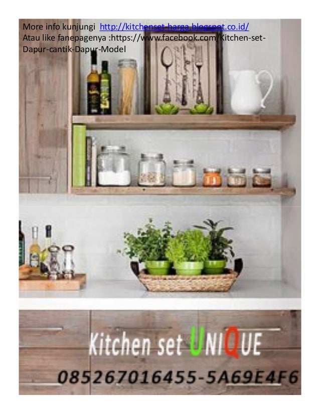 Contoh Kitchen Set Dapur Kecil Harga Kitchen Set Bawah Kitchen Set