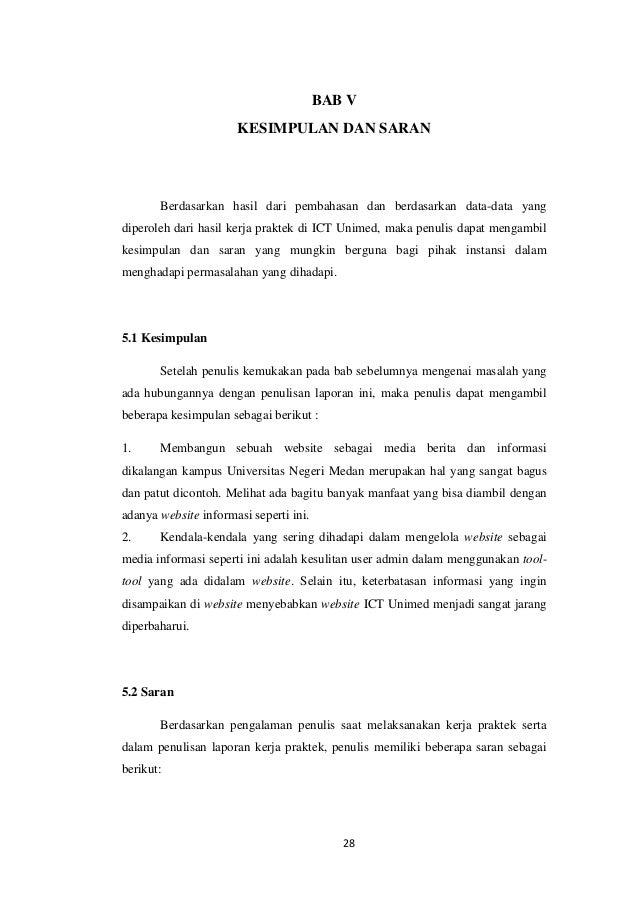 Contoh Laporan Kerja Praktek Contoh 317