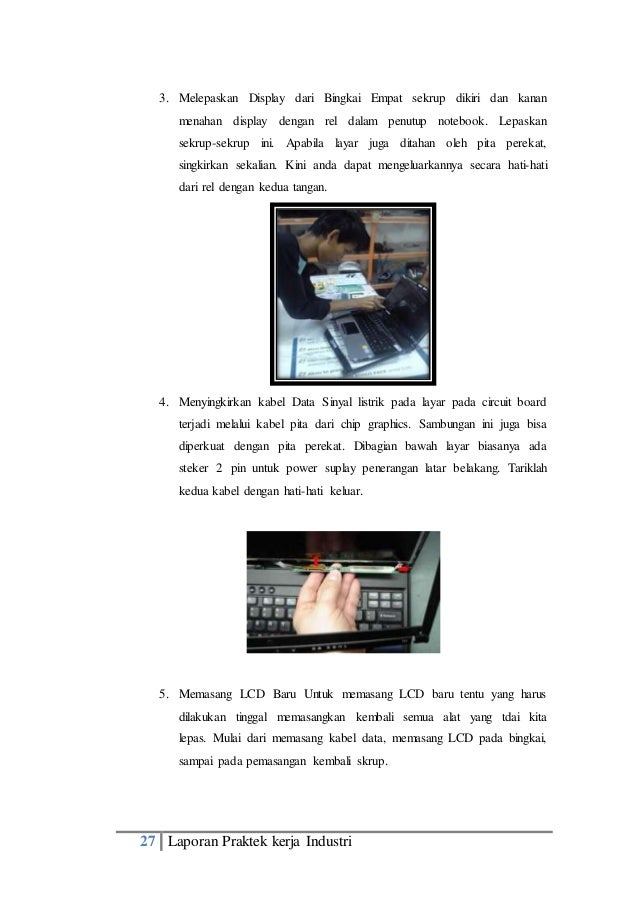 Contoh laporan pkl ( prakerin ) tkj