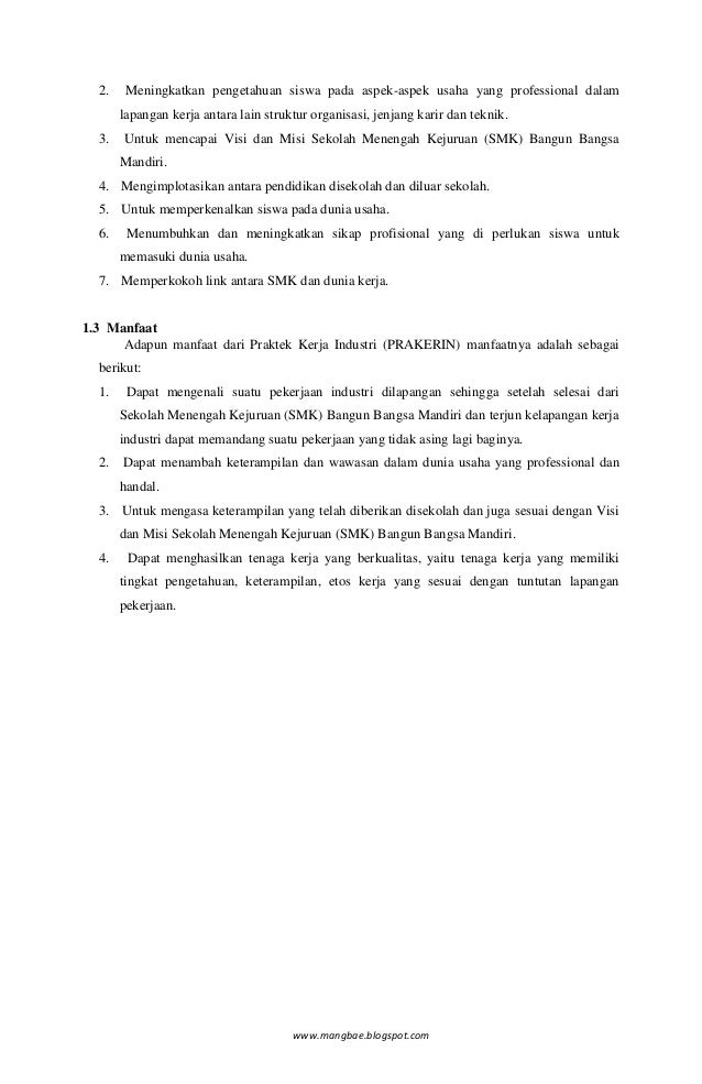 Contoh Laporan Pkl Smk Di Apotek Laporan 7