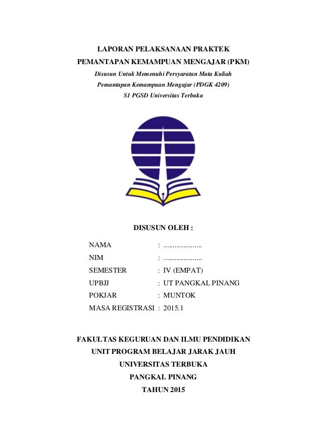 Contoh Skripsi Universitas Terbuka