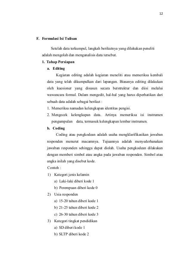 Contoh Makalah Bahasa Indonesia