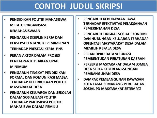 Contoh Skripsi Kualitatif Contoh Soal Dan Materi Pelajaran 2