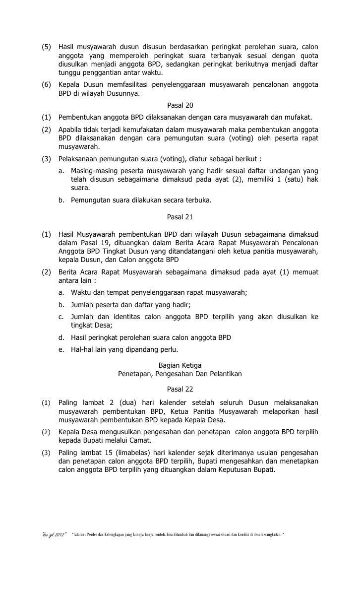 Contoh Surat Undangan Bpd - Pigura