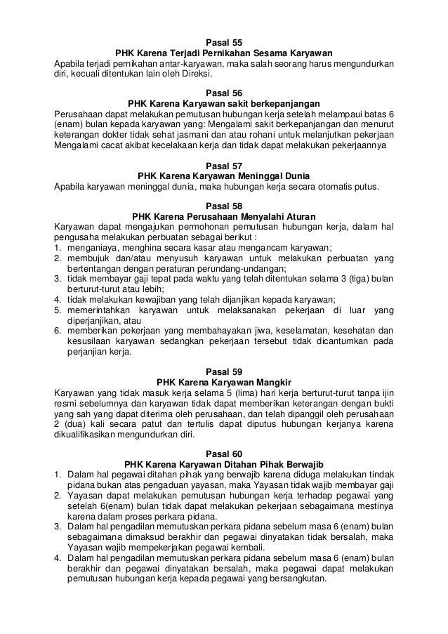 Contoh Surat Pengunduran Diri Karyawan Pabrik Karena Hamil ...