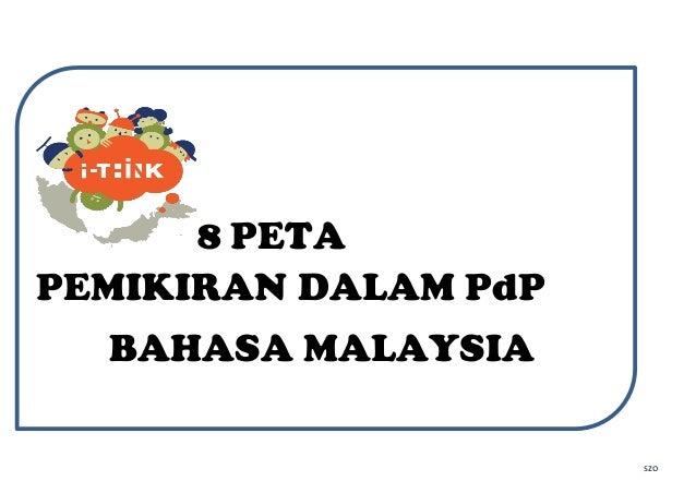 szo 8 PETA PEMIKIRAN DALAM PdP BAHASA MALAYSIA