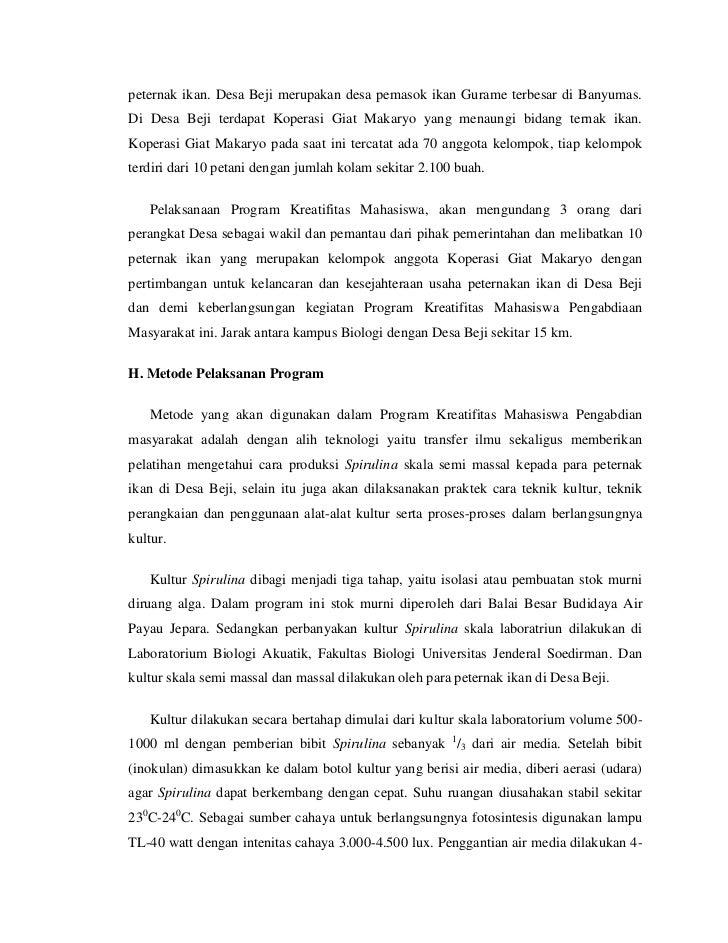 Contoh Proposal Budidaya Ikan Air Tawar Download Berbagi Contoh Proposal