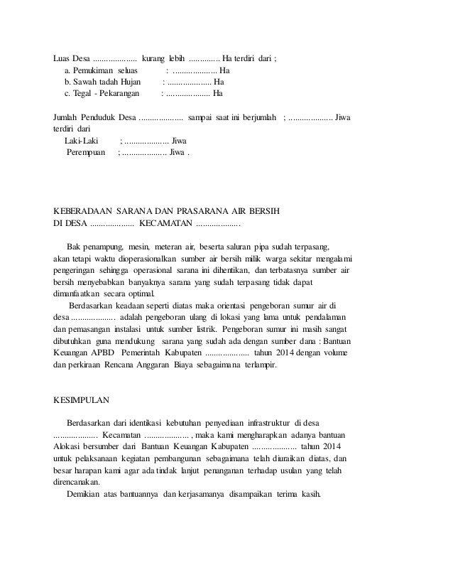 Contoh Proposal Air Bersih Guru Ilmu Sosial