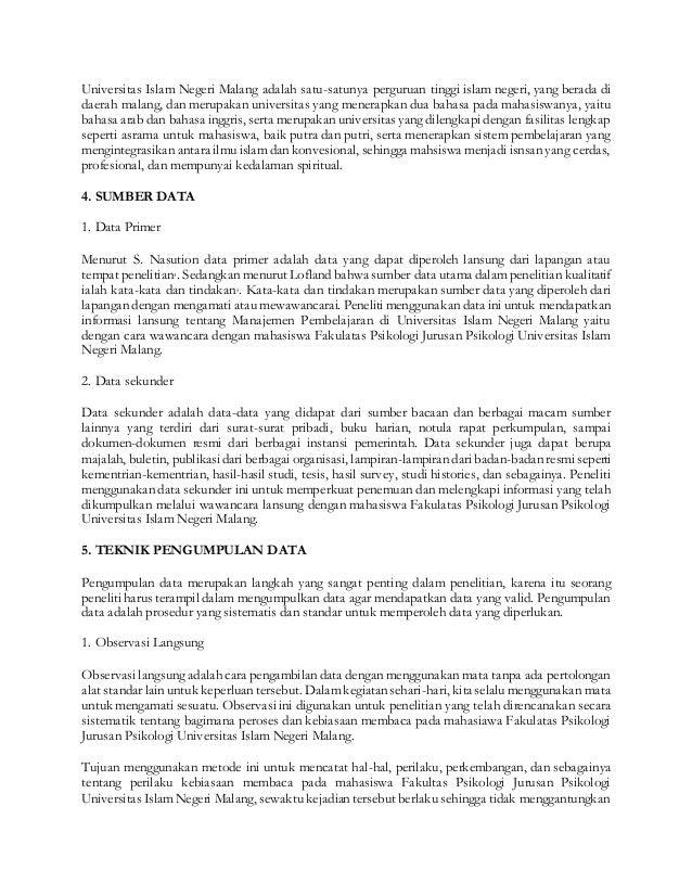 Proposal Tesis Kualitatif Psikologi
