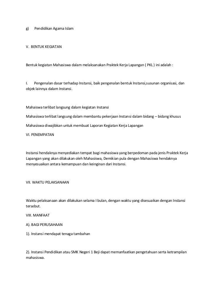 Contoh Proposal Bulan Bahasa Rasmi Re