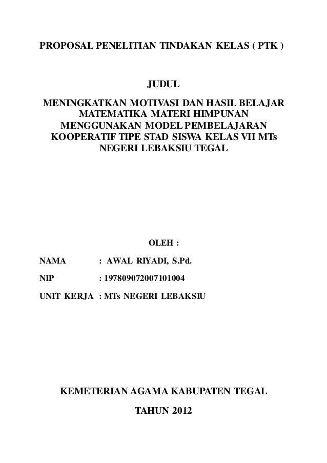 Contoh Proposal Ptk 2
