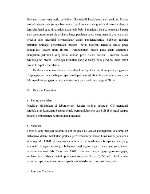Contoh Proposal Ilmiah Sederhana Ilmusosial Id