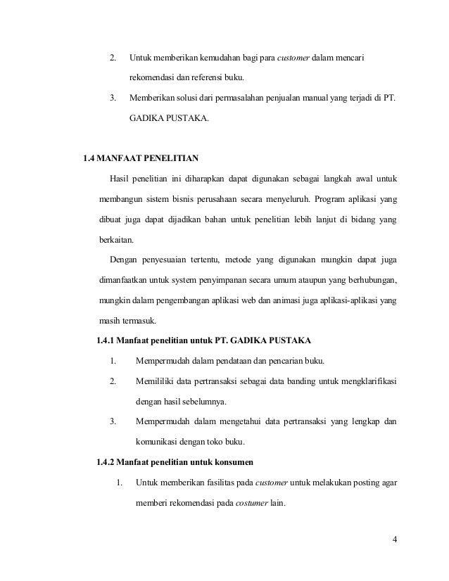Contoh Proposal Skripsi E Commerce Kumpulan Berbagai Skripsi