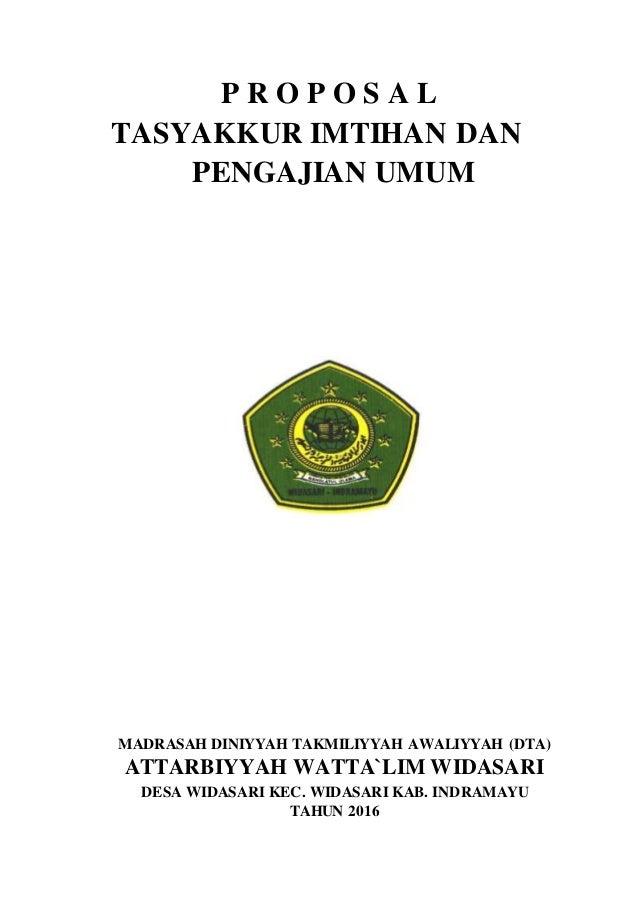 Contoh Proposal Akhirussanah Download Gambar Online
