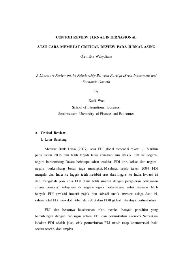 Contoh Review Jurnal Data Mining Jurnal Indonesia
