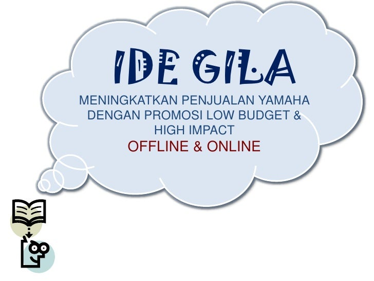 Marketing Idea Competition 2010 Contoh Presentasi