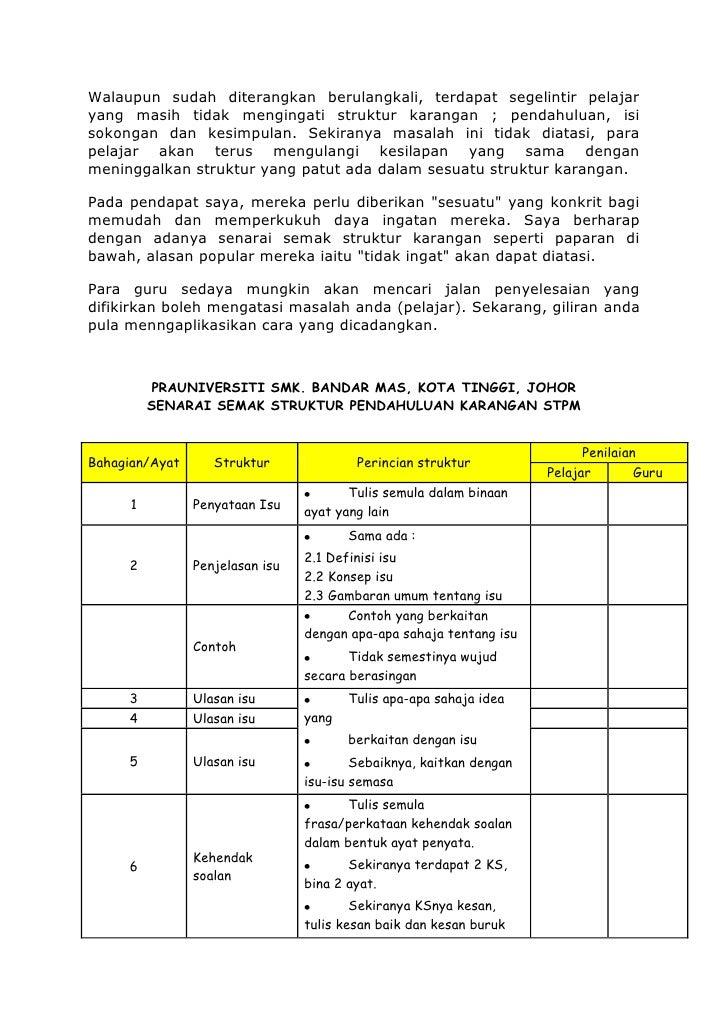 Contoh Soalan Stpm Baharu
