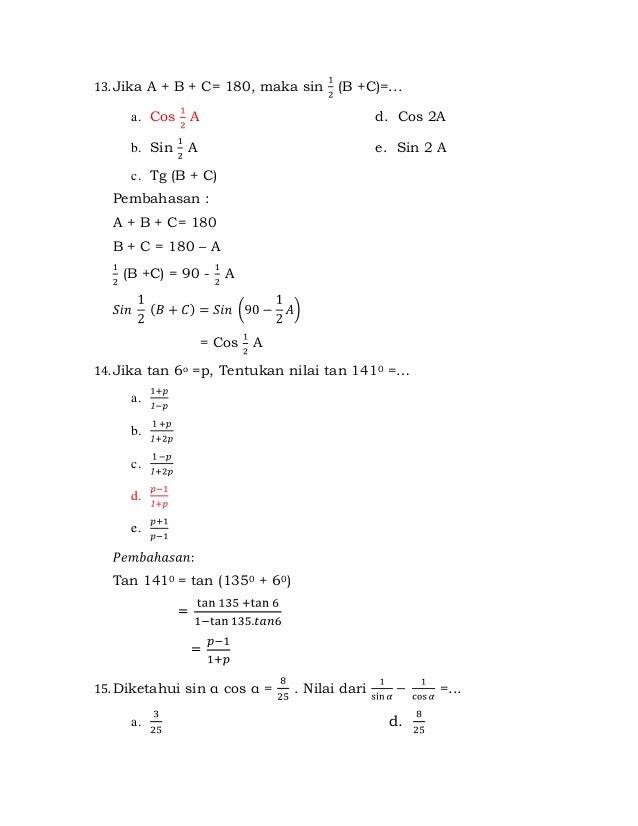 Contoh Soal Matriks Kelas 12 Dan Pembahasan Contoh Soal Matriks Dan Pembahasan Matematika Bab 1