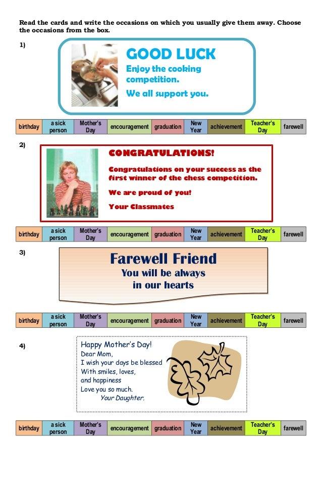 Contoh Greeting Card Graduation Materi Pelajaran 10