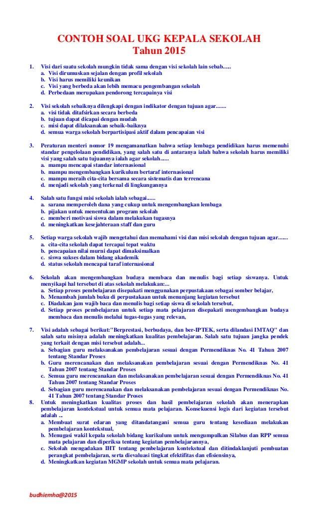 Latihan Soal Ukg Download Lengkap