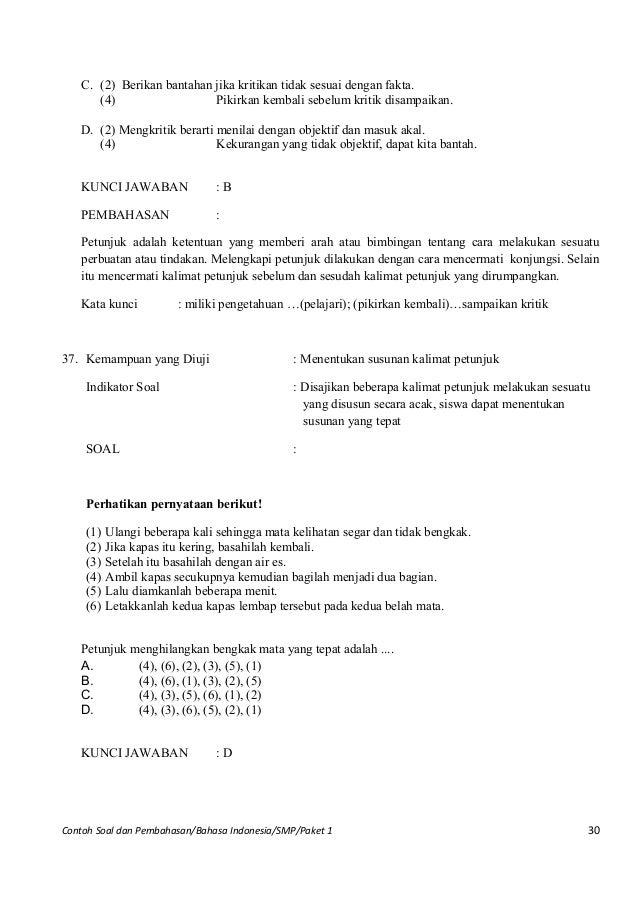 Soal Pilihan Ganda Surat Dinas Dan Pribadi - Kumpulan