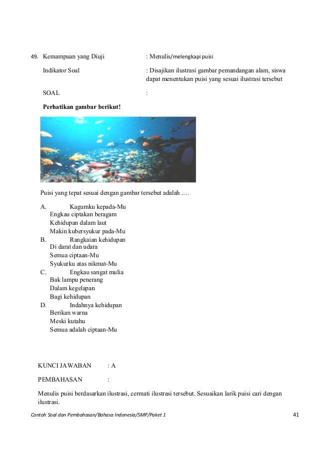 Contoh Gambar Ilustrasi Untuk Smp Contoh 36