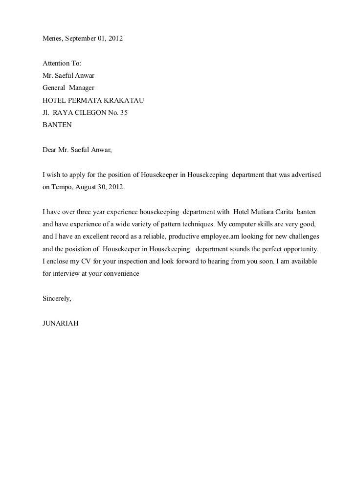 Contoh Surat Lamaran Pekerjaan Bahasa Ingris Ap 3 Smk Pariwisata Bait