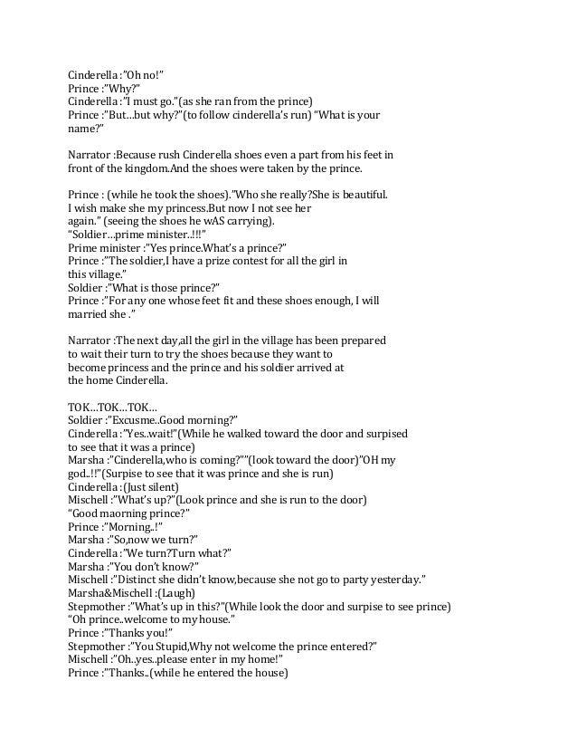 Contoh Teks Drama Bahasa Inggris