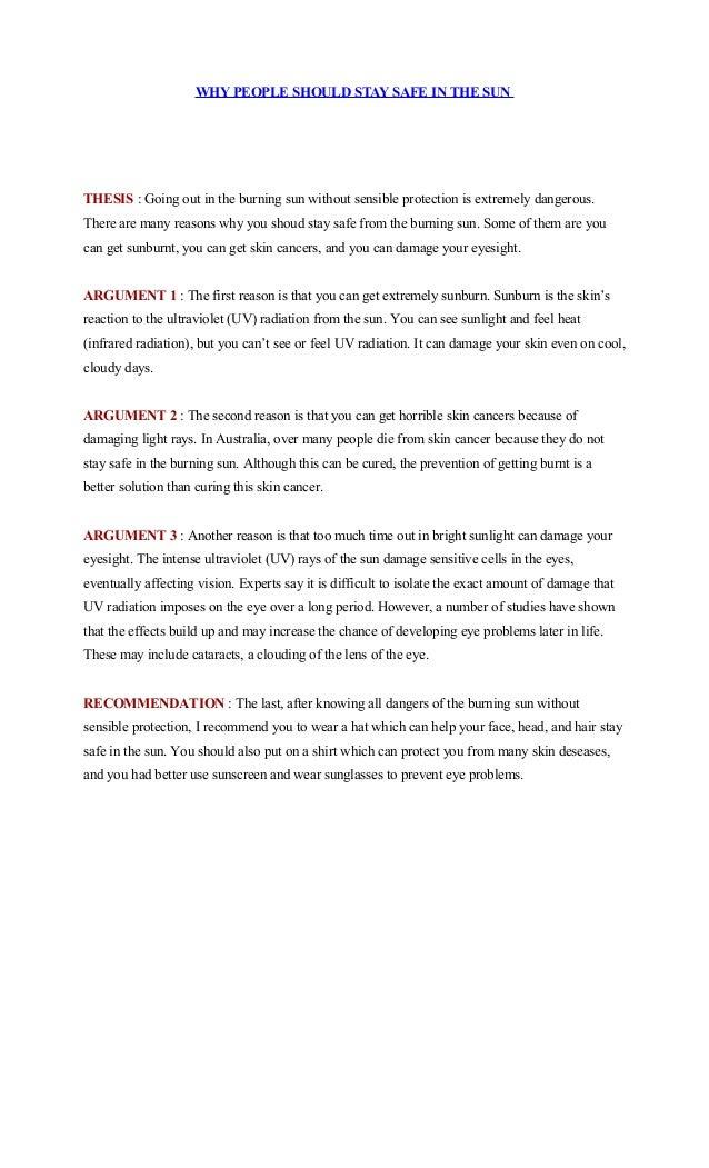 contoh teks thesis argument reiteration