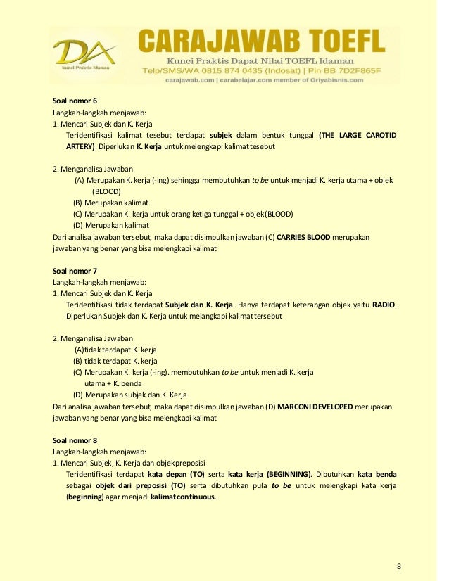 download soal toefl structure and written expression pdf