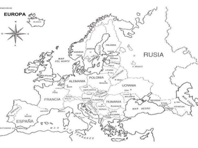 Contorno da europa