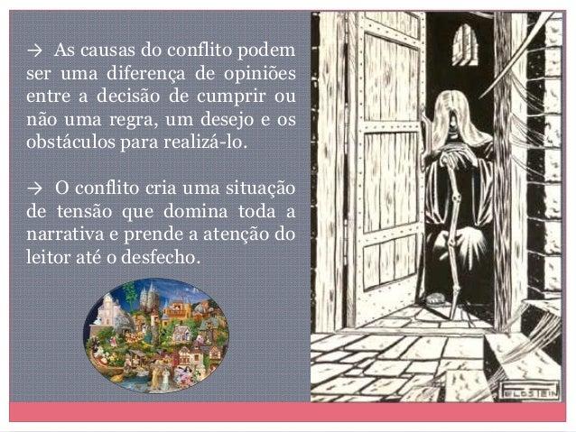 → As causas do conflito podem ser uma diferença de opiniões entre a decisão de cumprir ou não uma regra, um desejo e os ob...