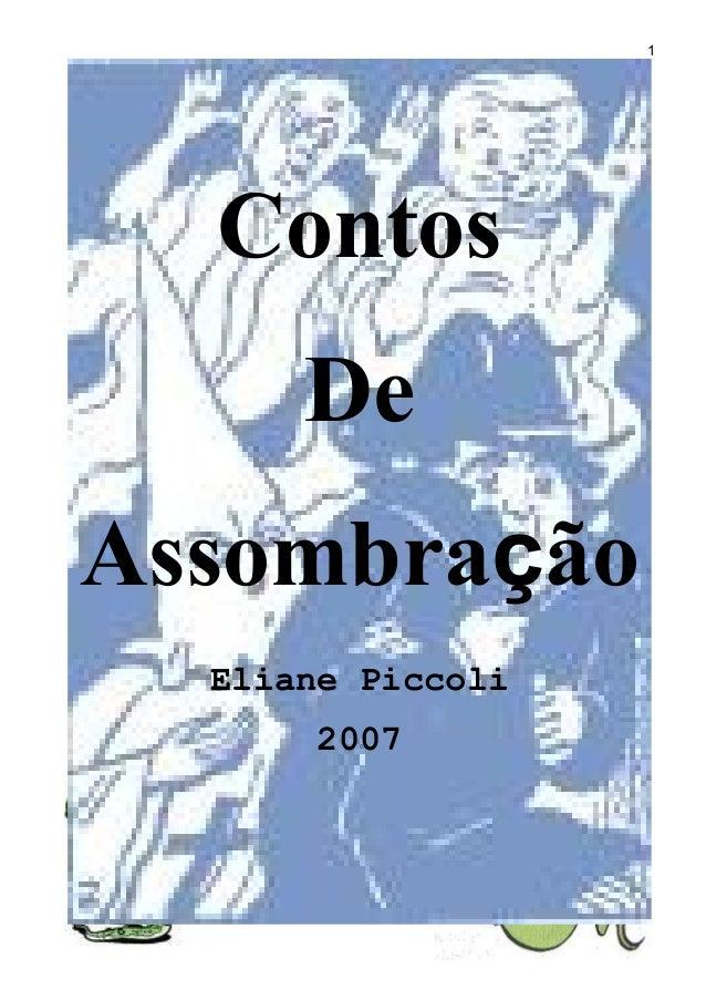 Contos De Assombração Eliane Piccoli 2007 1