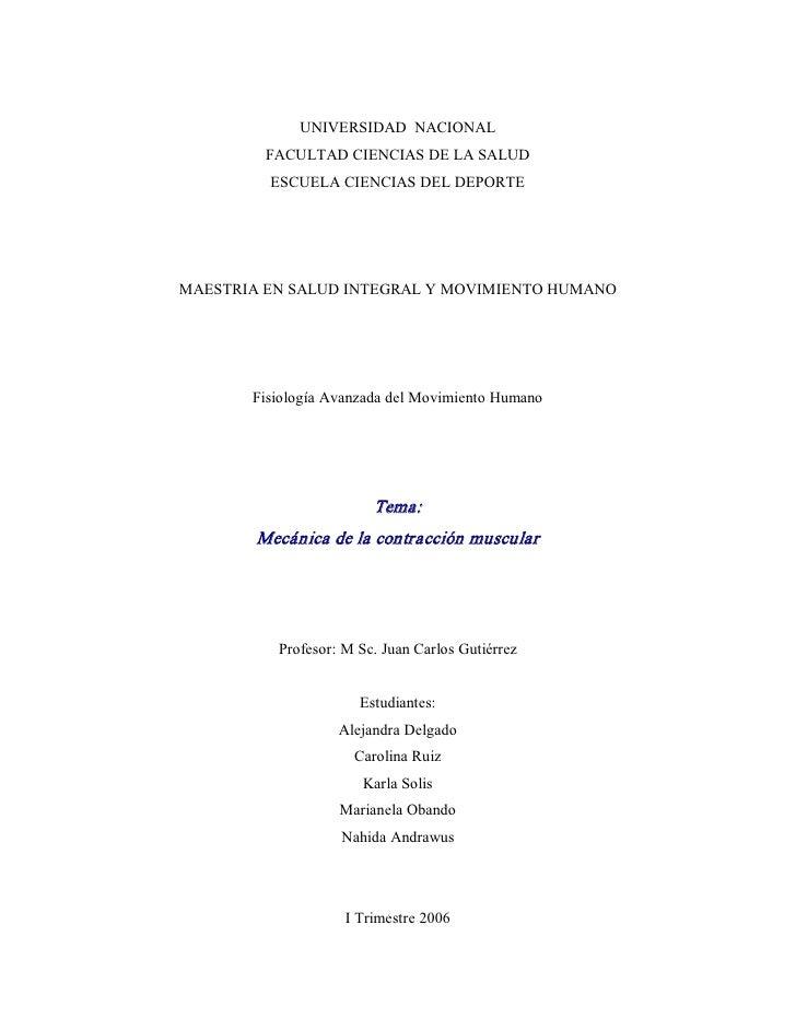 UNIVERSIDADNACIONAL         FACULTADCIENCIASDELASALUD         ESCUELACIENCIASDELDEPORTEMAESTRIAENSALUDINTEG...