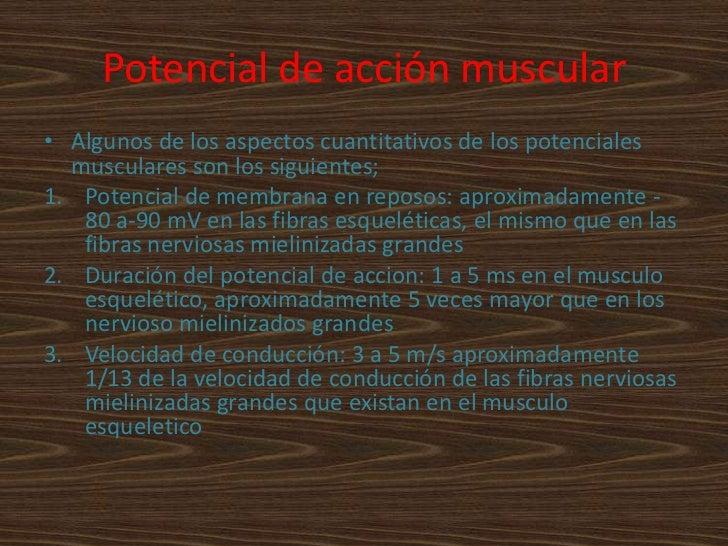 corriente músculo