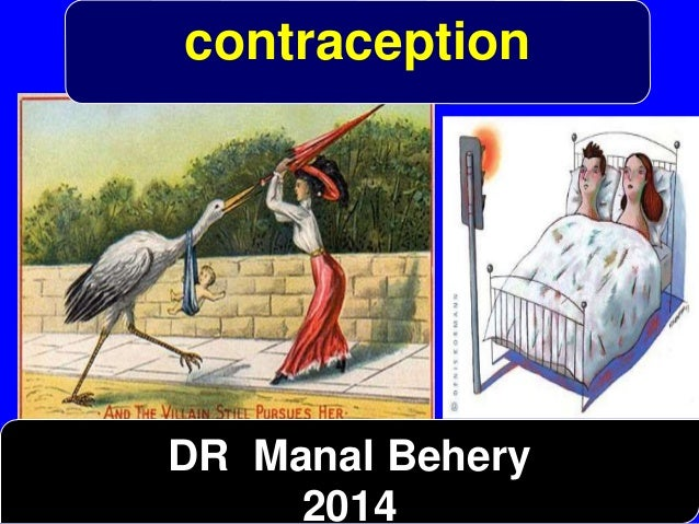 contraception  DR Manal Behery  2014