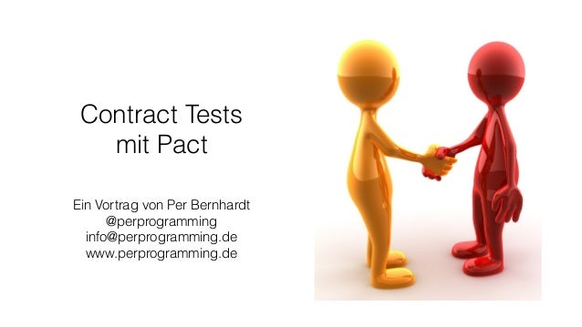 Contract Tests mit Pact Slide 2