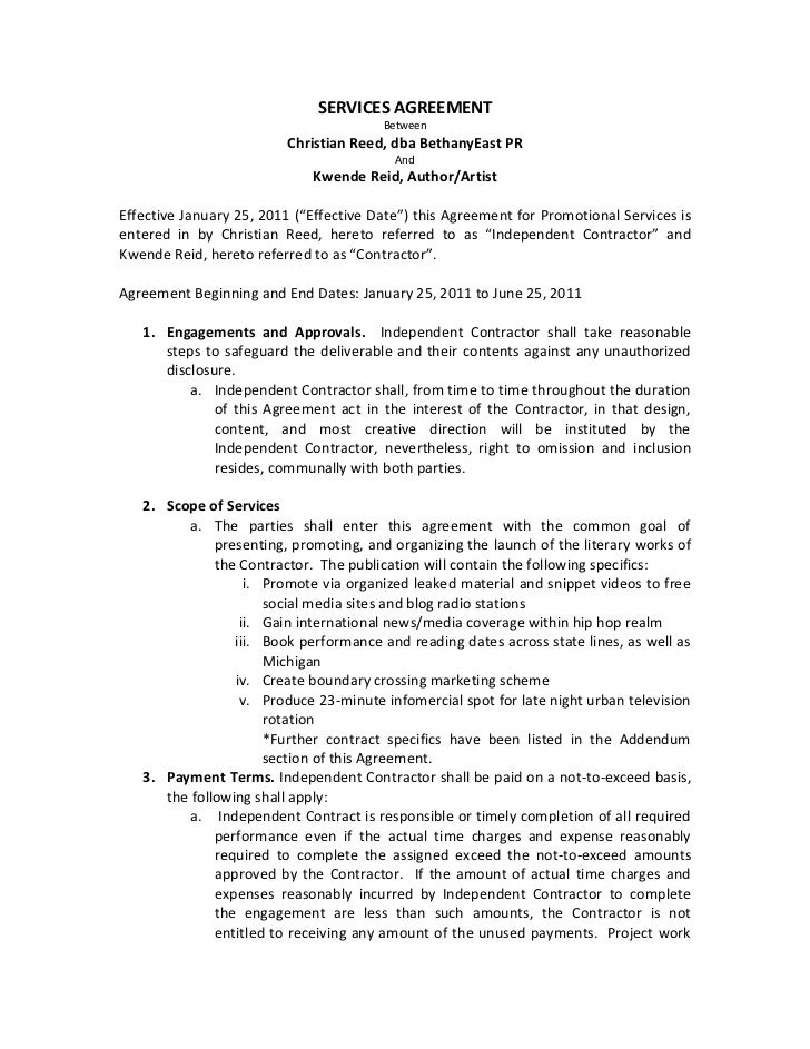 Contract 0111 for B b contract