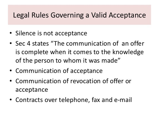 "legal rules governing valid acceptance 2009-09-02 the can-spam act, a law that sets the rules for commercial email,  your message must include your valid physical postal address  who is responsible for can-spam compliance for these ""forward to a friend"" messages a."