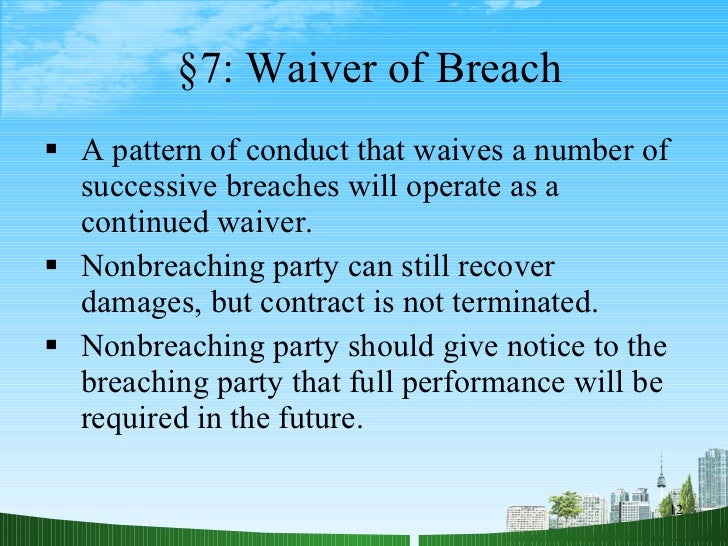 remedies available for breach of contract pdf