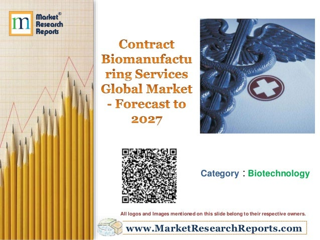 www.MarketResearchReports.com Category : Biotechnology All logos and Images mentioned on this slide belong to their respec...