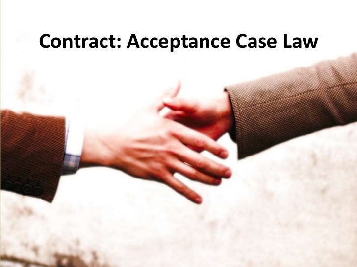 contract law assignment 1